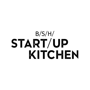 BSH Startup Kitchen Logo White
